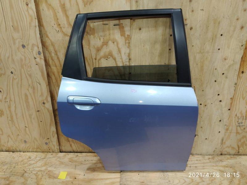 Дверь боковая Honda Fit GD1 L13A 2003 задняя правая