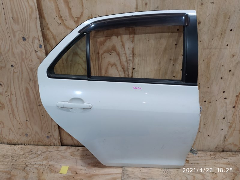 Дверь боковая Toyota Belta SCP92 2SZ-FE 2006 задняя правая