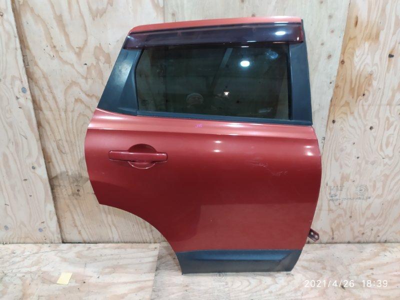 Дверь боковая Nissan Dualis J10 MR20DE 2007 задняя правая