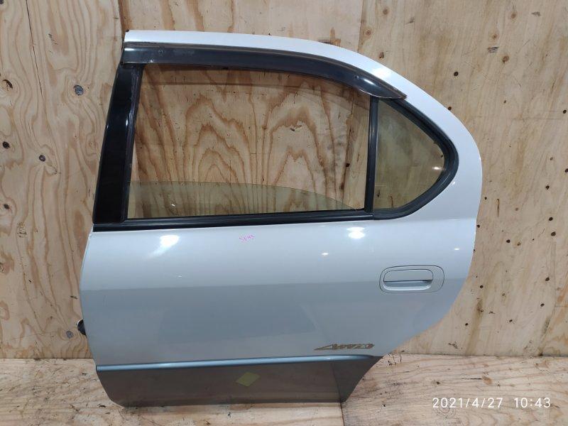 Дверь боковая Toyota Camry SV43 3S-FE 1998 задняя левая