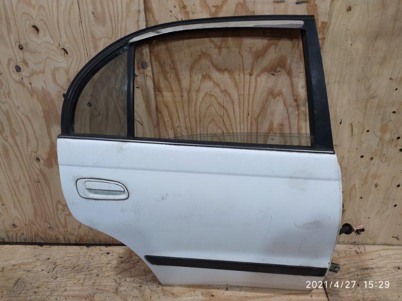 Дверь боковая Toyota Corona AT190 4A-FE 1995 задняя правая