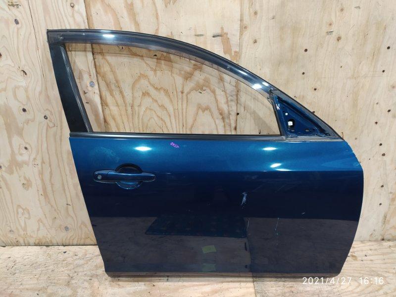 Дверь боковая Mazda Axela BK5P ZY-VE 2008 передняя правая