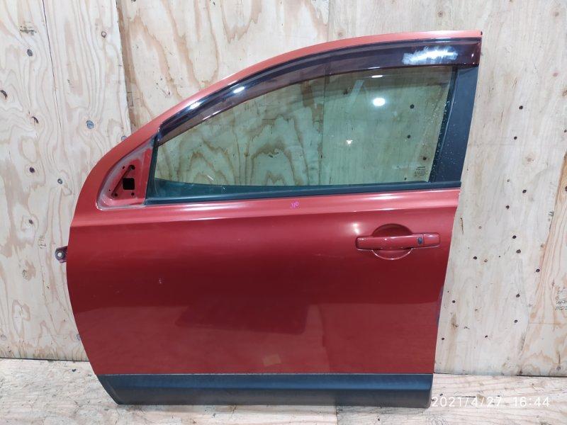 Дверь боковая Nissan Dualis J10 MR20DE 2007 передняя левая