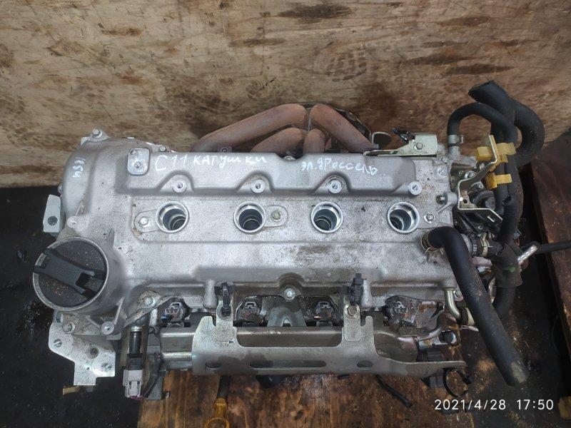 Двигатель Nissan Tiida C11 HR15DE 2008