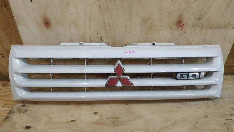 Решетка радиатора Mitsubishi Pajero Io H76W 4G93 1999