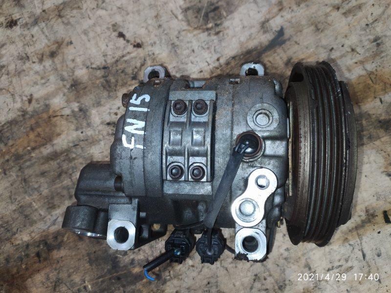 Компрессор кондиционера Nissan Pulsar FN15 GA15DE 1995