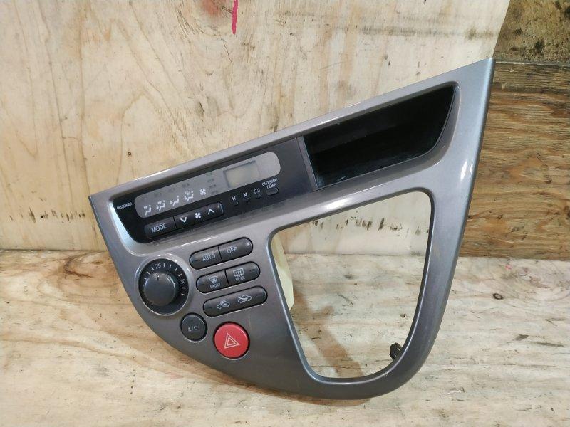 Блок управления климат-контролем Toyota Wish ANE10 1AZ-FSE 2004