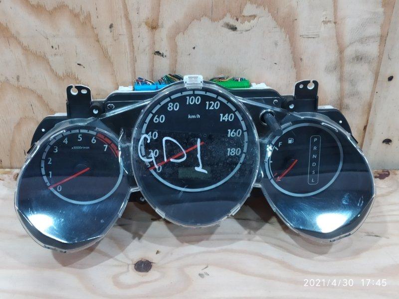 Комбинация приборов Honda Fit GD1 L13A 2002