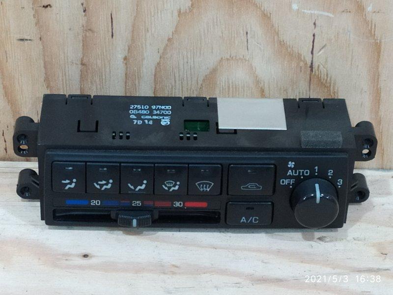 Блок управления климат-контролем Nissan Avenir PW10 SR20DE 1997