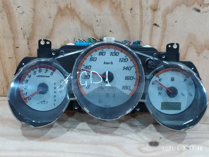 Комбинация приборов Honda Fit GD1 L13A 2007