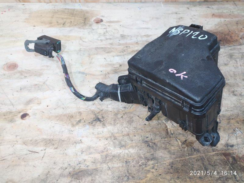 Блок реле и предохранителей Toyota Ractis NSP120