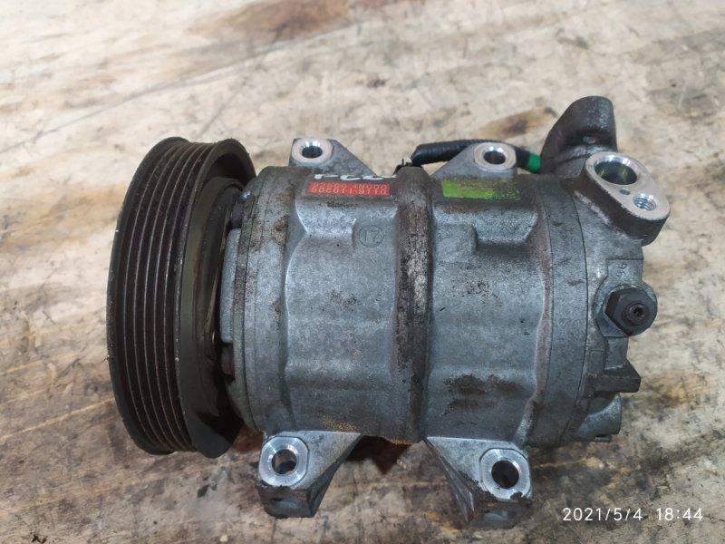 Компрессор кондиционера Nissan Serena PC24 SR20DE 2000