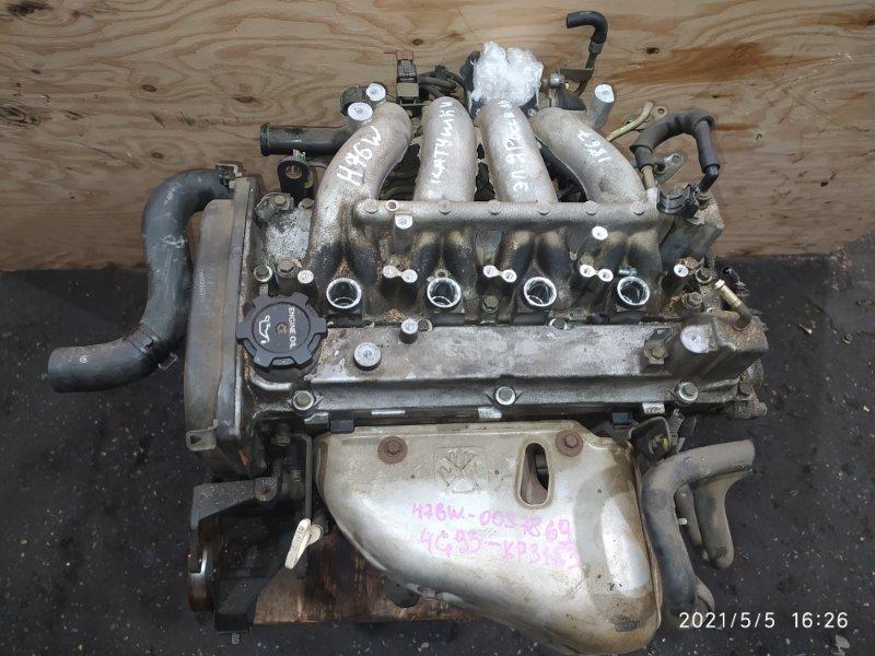 Двигатель Mitsubishi Pajero Io H76W 4G93 1999