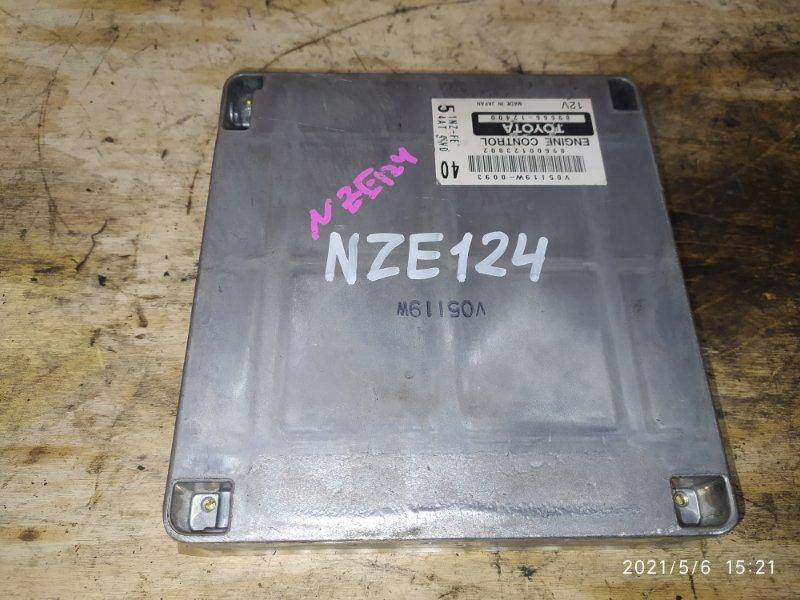 Блок управления двс Toyota Corolla Fielder NZE124 1NZ-FE 2005
