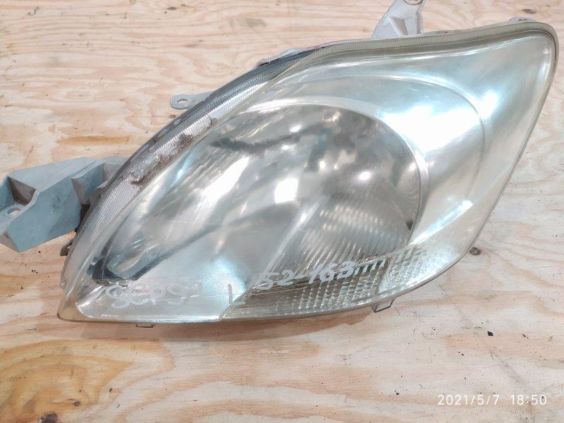 Фара Toyota Belta SCP92 2SZ-FE 2006 левая