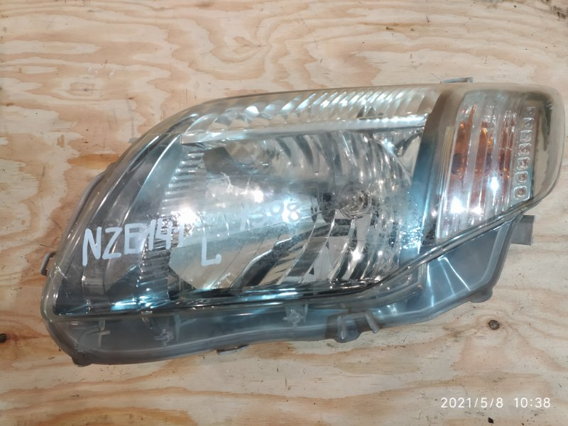 Фара Toyota Corolla Fielder NZE141G 1NZ-FE 2008 левая