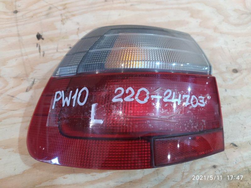 Фонарь стоп-сигнала Nissan Avenir PW10 SR20DE 1997 левый