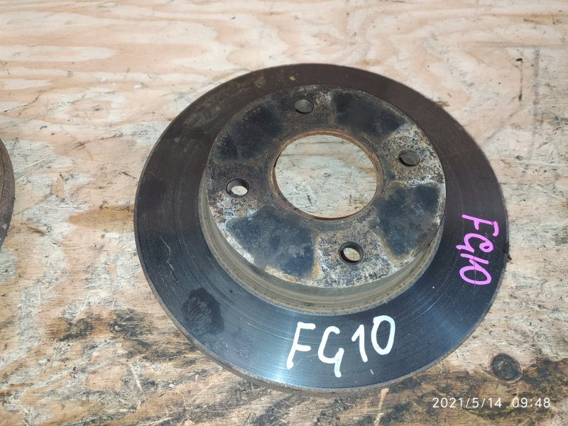 Диск тормозной Nissan Bluebird Sylphy FG10 QG15DE 2005 передний