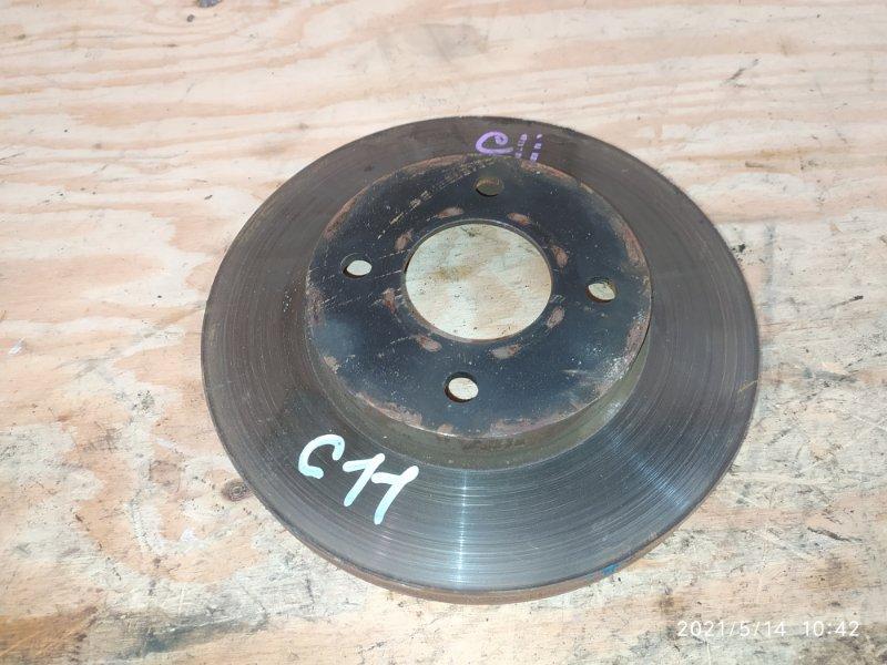 Диск тормозной Nissan Tiida C11 HR15DE 2008 передний
