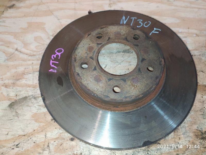 Диск тормозной Nissan X-Trail NT30 QR20DE 2006 передний