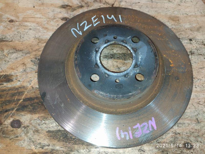 Диск тормозной Toyota Corolla Fielder NZE141G 1NZ-FE 2008 передний