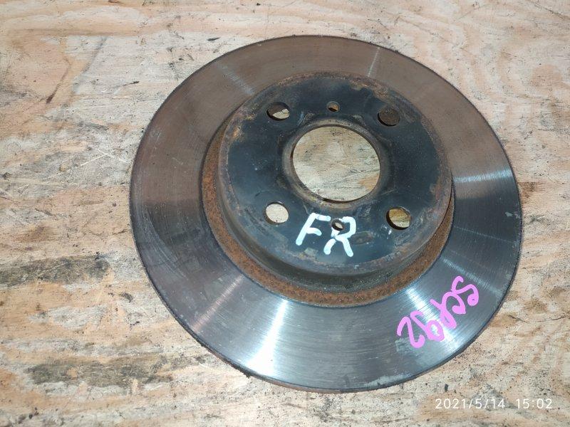 Диск тормозной Toyota Belta SCP92 2SZ-FE 2006 передний