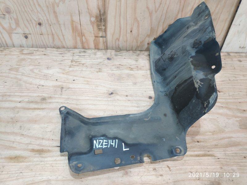 Защита двс Toyota Corolla Fielder NZE141G 1NZ-FE 2008 левая
