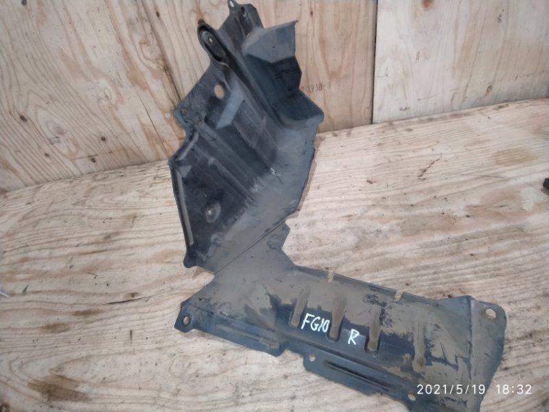 Защита двс Nissan Bluebird Sylphy FG10 QG15DE 2004 правая