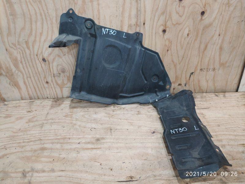 Защита двс Nissan X-Trail NT30 QR20DE 2001 левая