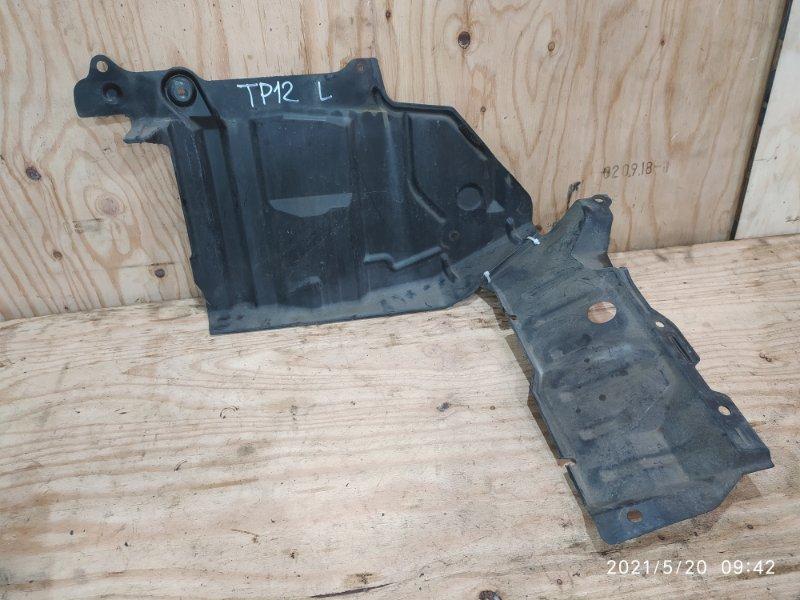 Защита двс Nissan Primera TP12 QR20DE 2004 левая