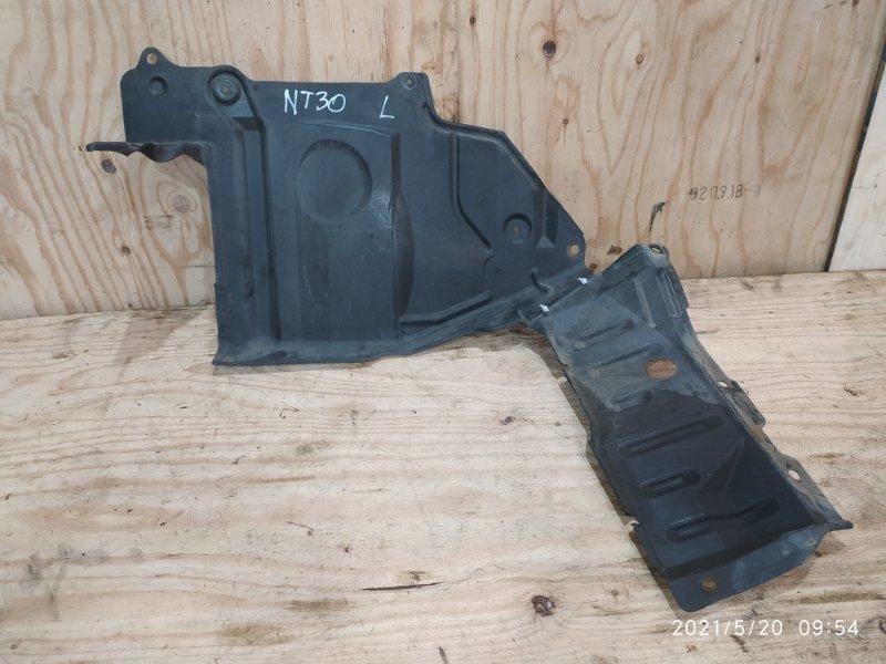 Защита двс Nissan X-Trail NT30 QR20DE 2004 левая