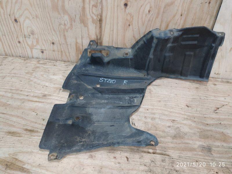 Защита двс Toyota Corona Premio ST210 3S-FSE 2001 правая