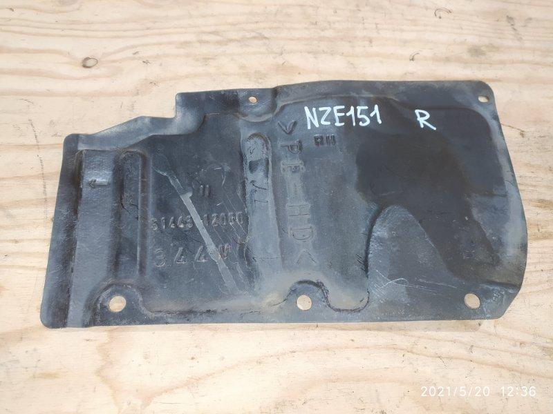 Защита двс Toyota Auris NZE151 1NZ-FE 2007 правая