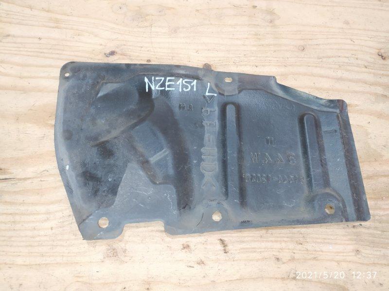 Защита двс Toyota Auris NZE151 1NZ-FE 2007 левая