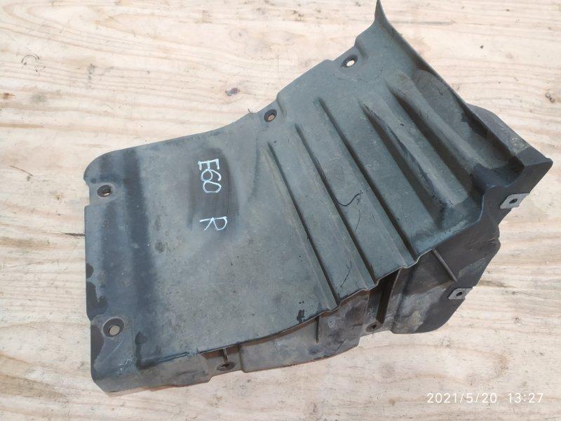 Защита двс Bmw 525I E60 N52B25 2008 правая