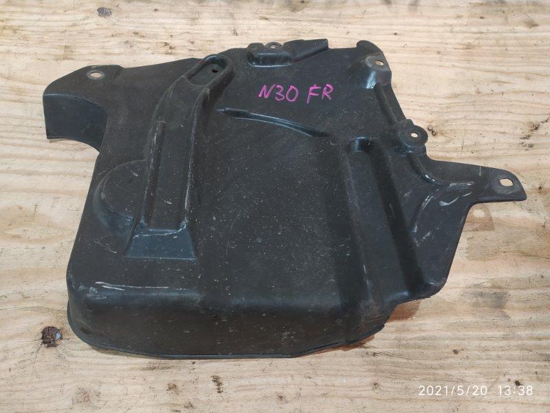 Защита двс Nissan Rnessa N30 SR20DE 1999 правая