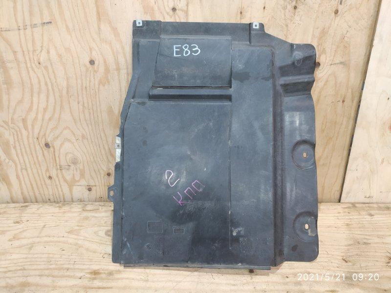 Защита двс Bmw X3 E83 N52B30 2007