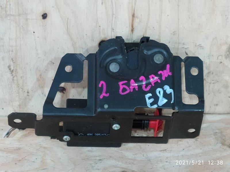 Замок багажника Bmw X3 E83 N52B30 2007