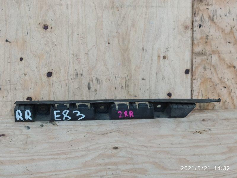 Клипса бампера Bmw X3 E83 N52B30 2007 задняя правая