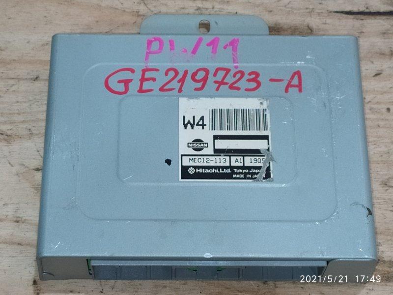 Блок управления двс Nissan Avenir PW11 SR20DE 2001