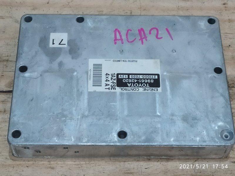 Блок управления двс Toyota Rav4 ACA21W 1AZ-FSE 2000
