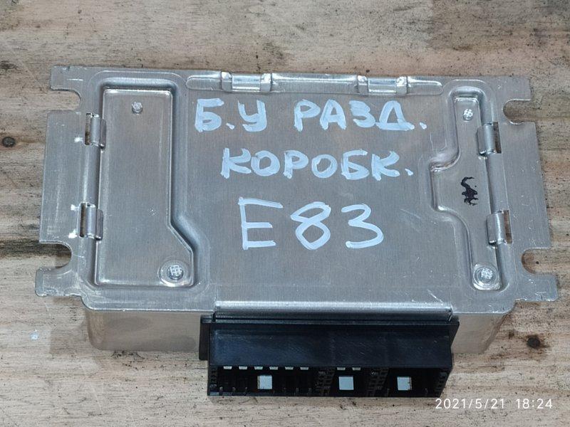 Блок управления кпп Bmw X3 E83 N52B30 2007