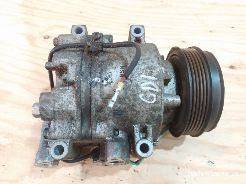 Компрессор кондиционера Honda Fit GD1 L13A 2006