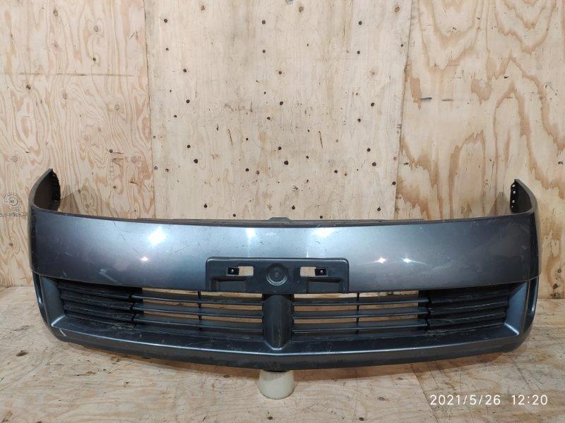 Бампер Nissan Wingroad WFY11 QG15DE 2004 передний
