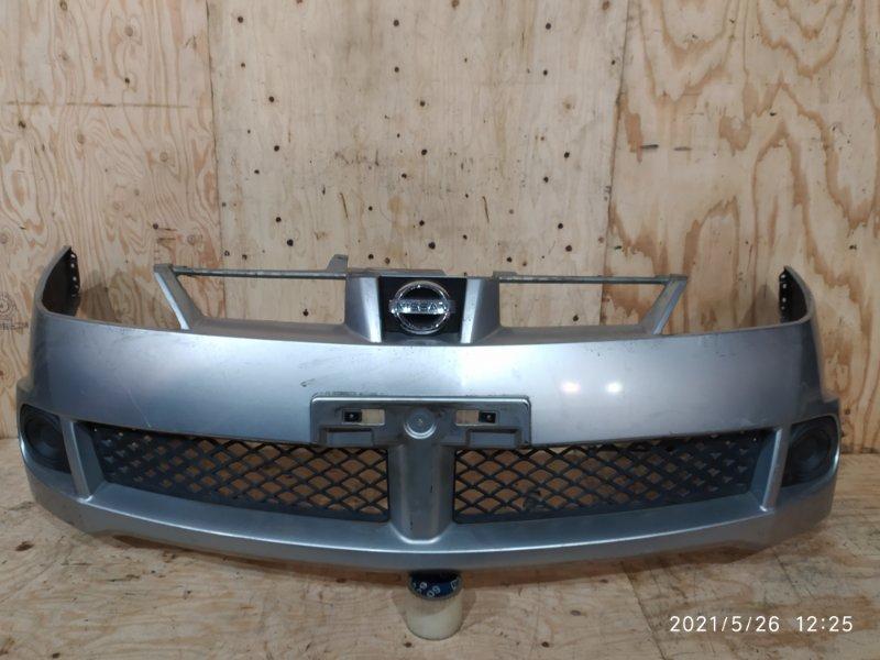 Бампер Nissan Wingroad WFY11 QG15DE 2001 передний