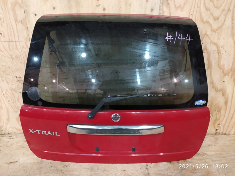 Дверь задняя багажника Nissan X-Trail NT30 QR20DE 2004