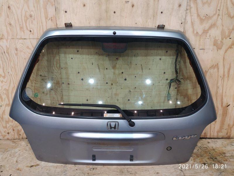 Дверь задняя багажника Honda Logo GA3 D13B 1999