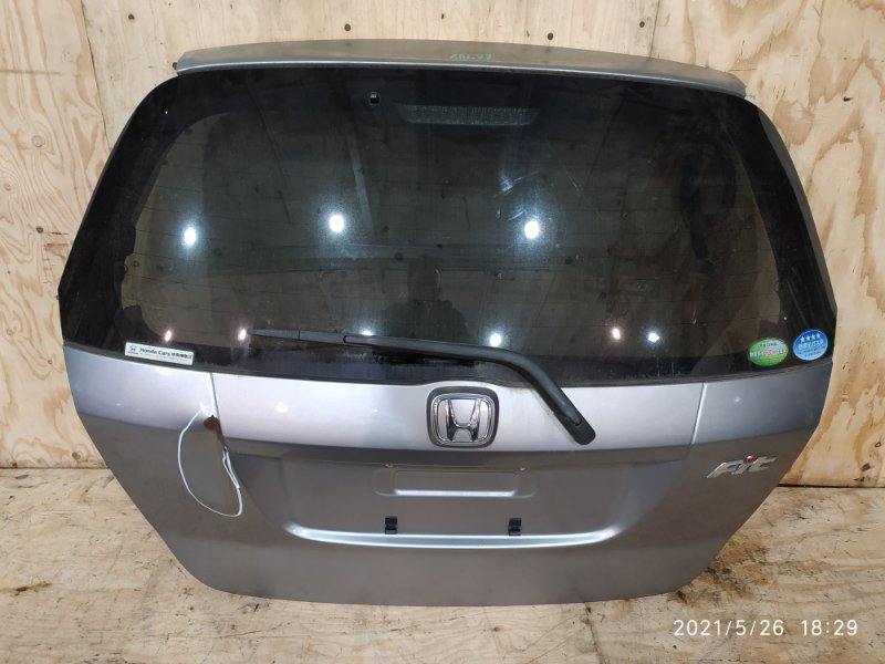 Дверь задняя багажника Honda Fit GD1 L13A 2006