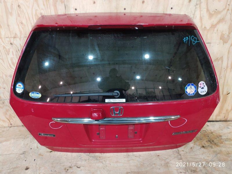 Дверь задняя багажника Honda Odyssey RA6 F23A 2001