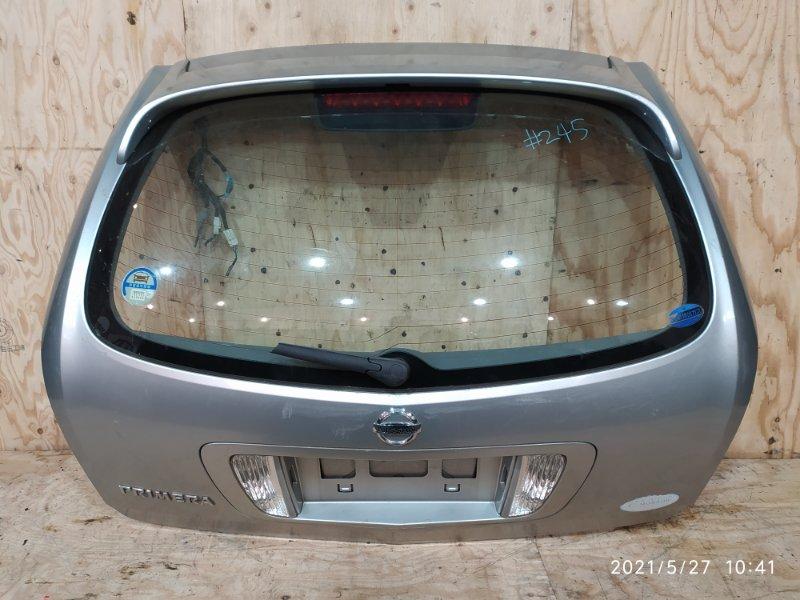 Дверь задняя багажника Nissan Primera WTP12 QR20DE 2002